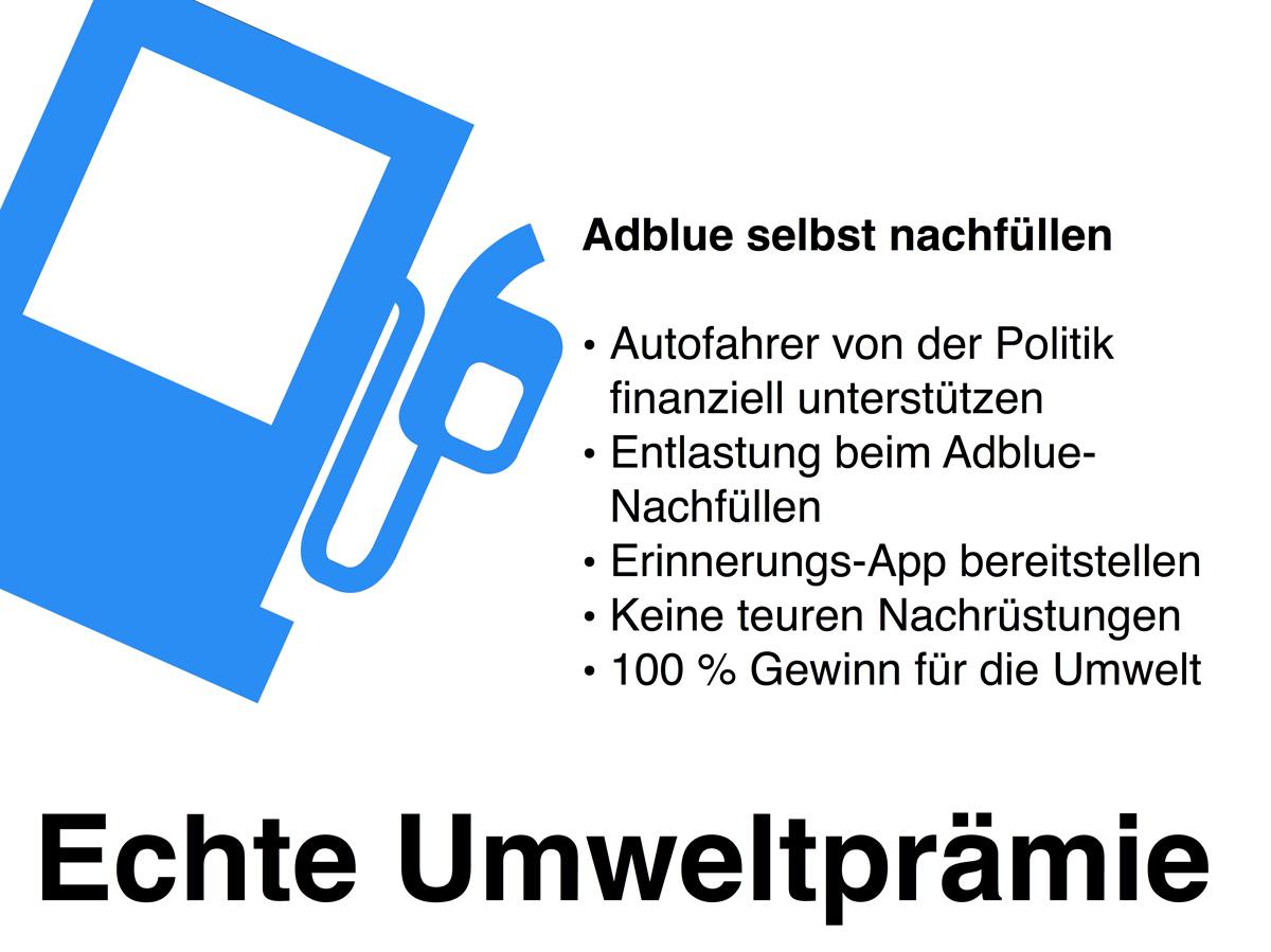 Diesel-Umrüstung – AdBlue selbst nachfüllen